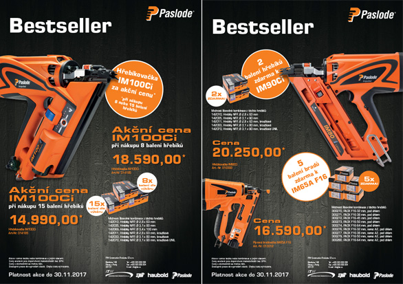 Paslode Best Seller
